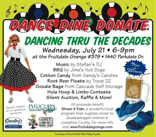 Dancing Through The Decades ~ Wed Jul 21